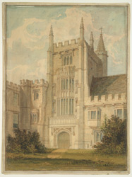 Magdalen College, Oxford, 1816 f13